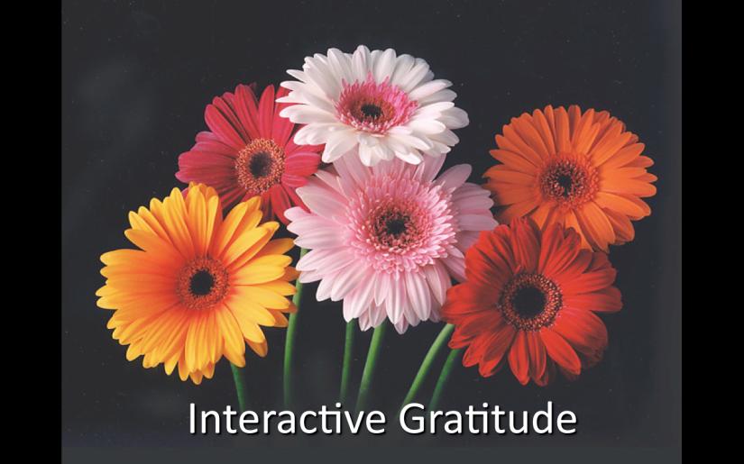 Interactive Gratitude